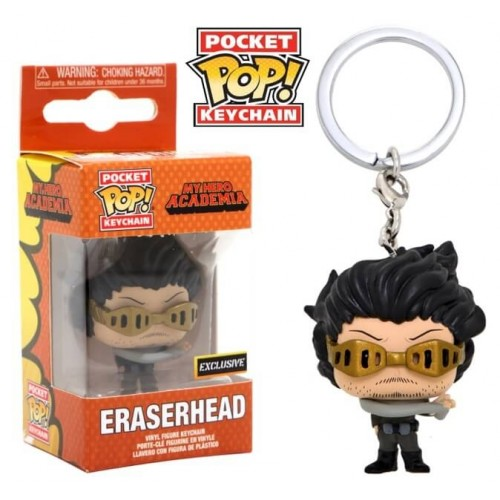 Funko Pocket Pop Keychains (Chaveiro) Eraserhead: My Hero Academia Edição Especial - Funko