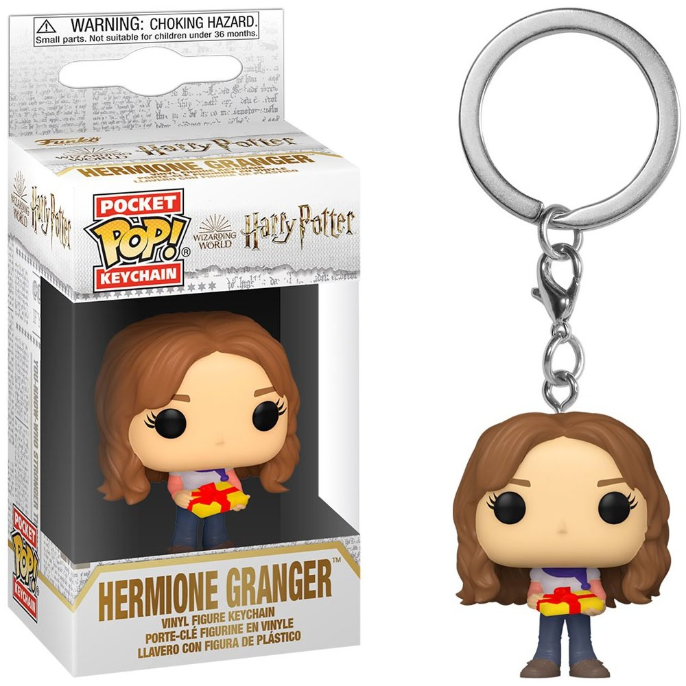 Funko Pocket Pop Keychains (Chaveiro) Hermione Granger Natal Holiday: Harry Potter - Funko