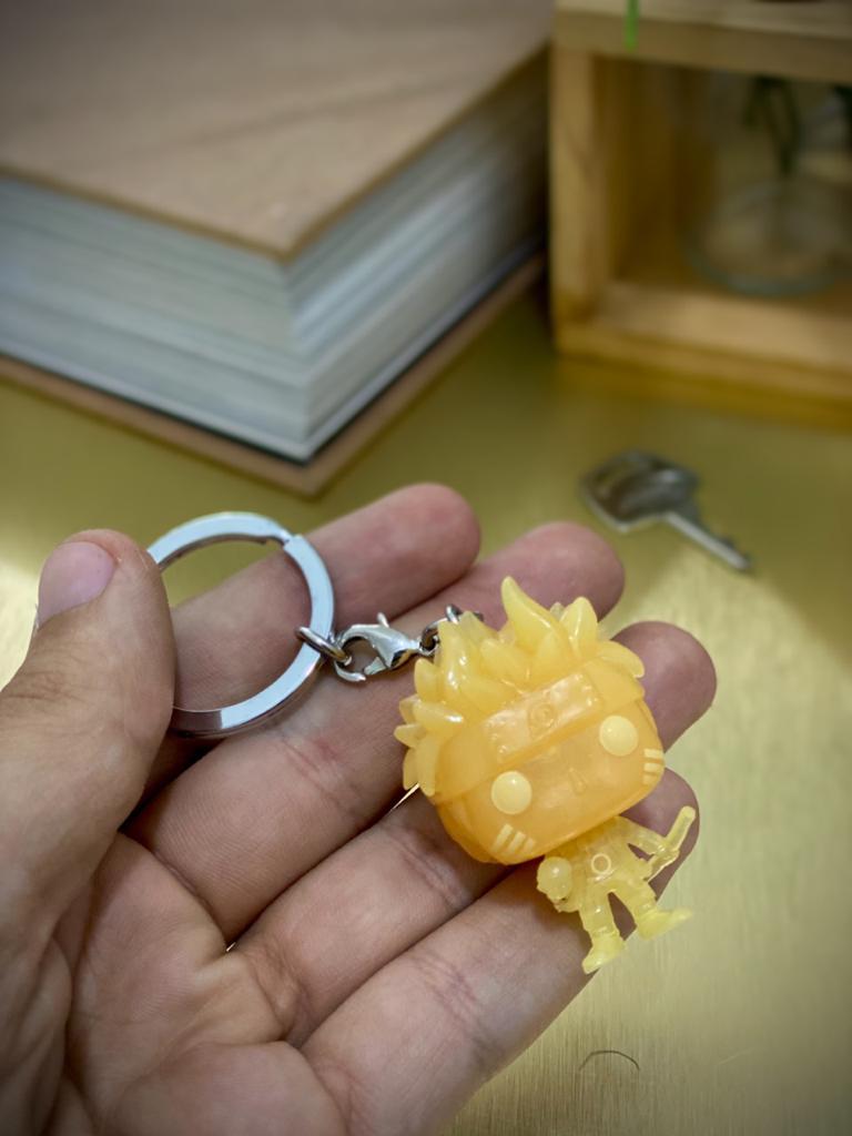Funko Pocket Pop Keychains (Chaveiro) Naruto Sábio dos Seis Caminhos Brilha no Escuro (Naruto Six Paths) Glow in the Dark - Funko