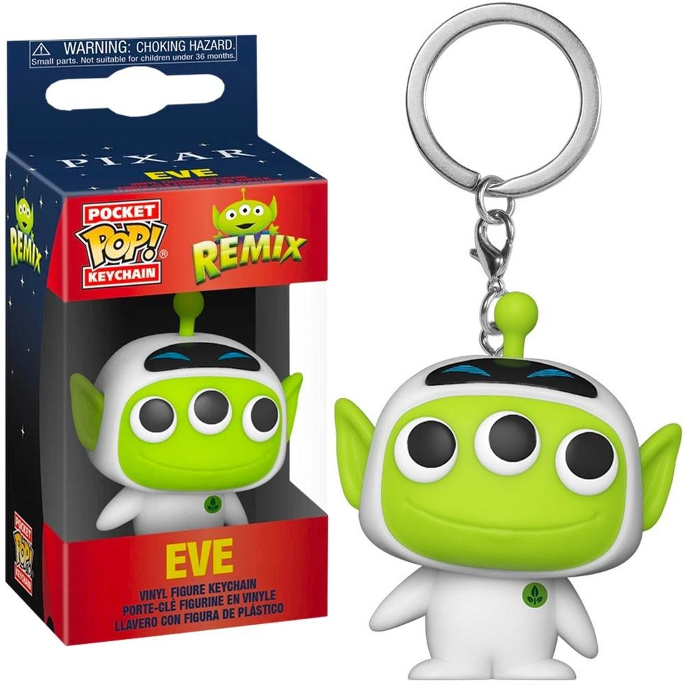 Funko Pocket Pop Keychains (Chaveiro) Pixar Alien Remix - Alien as Eve - Funko