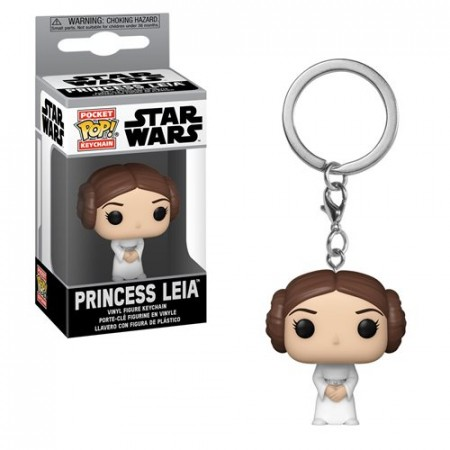 Funko Pocket Pop Keychains (Chaveiro) Princesa Leia: Star Wars - Funko