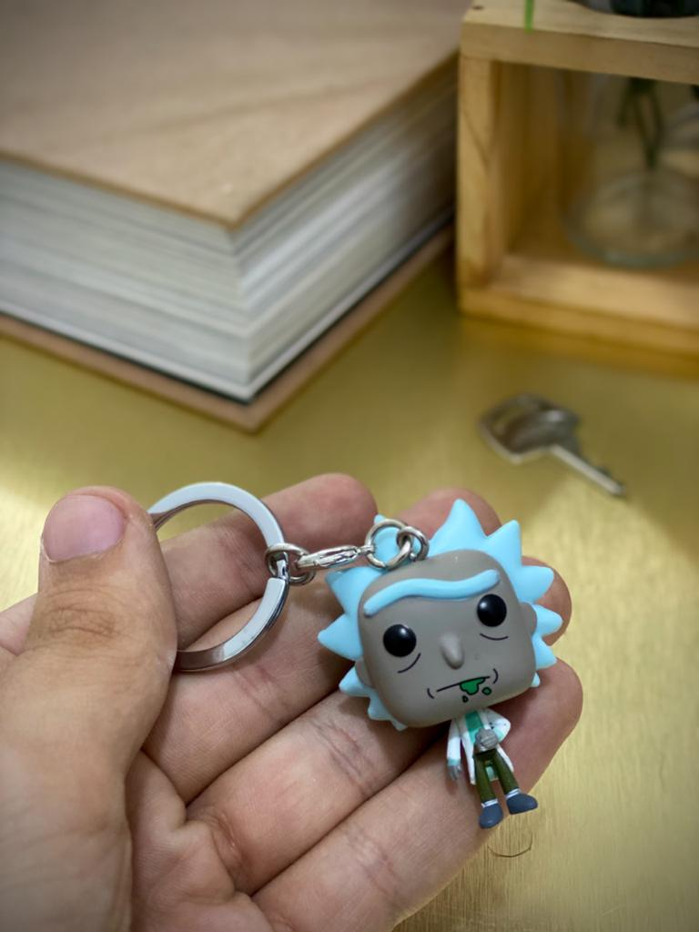 Funko Pocket Pop Keychains (Chaveiro) Rick: Rick and Morty - Funko