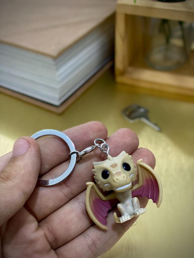 Funko Pocket Pop Keychains (Chaveiro) Viserion: Game Of Thrones - Funko