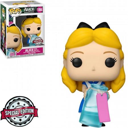 Funko Pop! Alice Com Garrafa With Bottle: Alice No País Das Maravilhas Alice In Wonderland Edição Especial #1064 - Funko