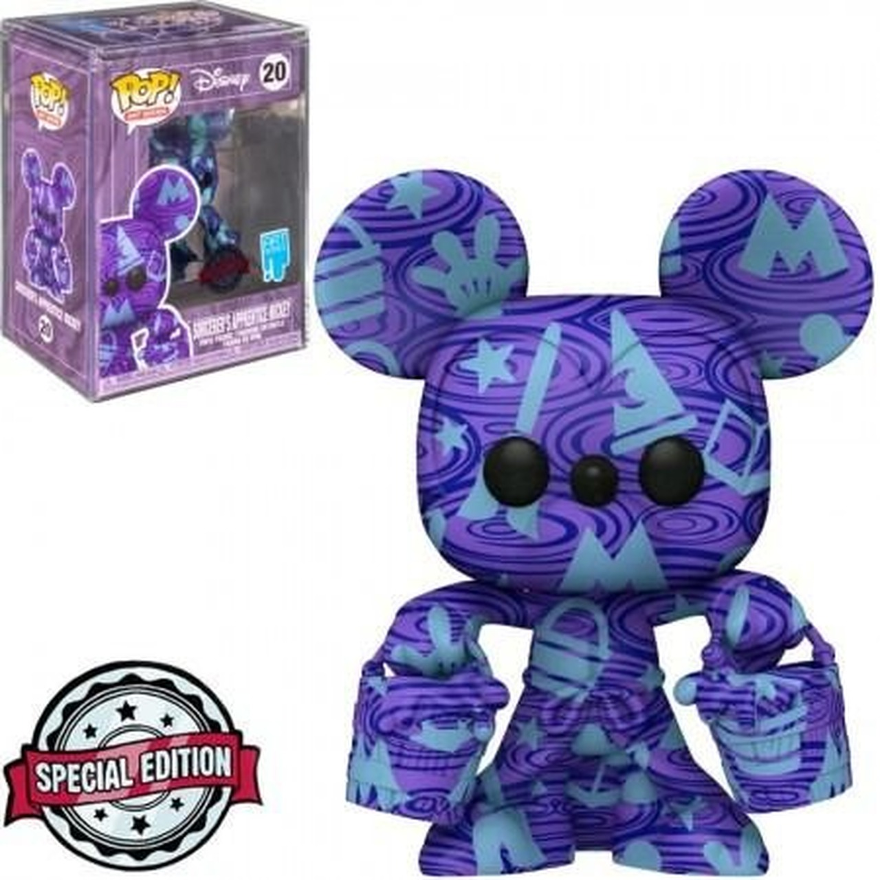 Funko Pop! Aprendiz de Feiticeiro Mickey Mouse Disney Art Series Edição Especial Special Edition #20 - Funko