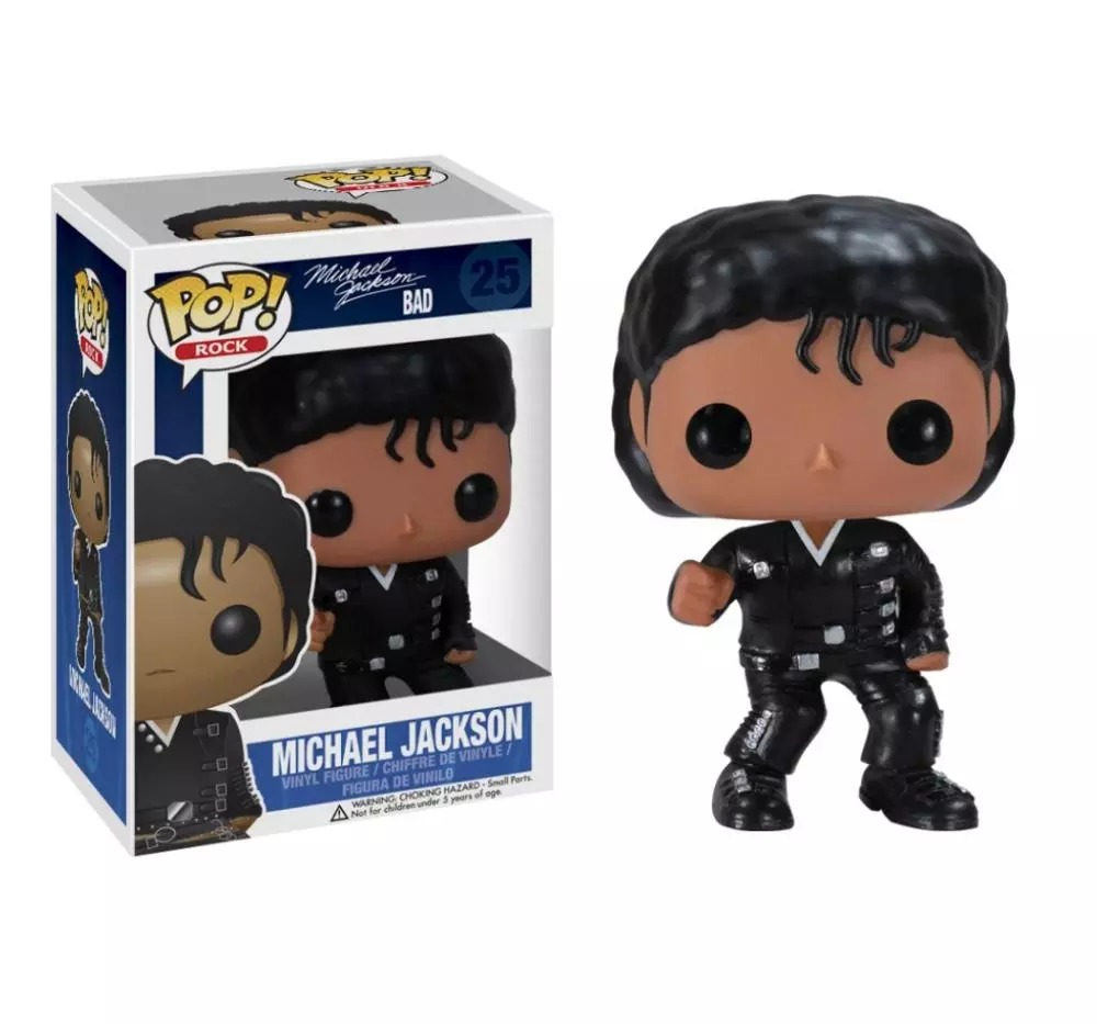 Funko Pop! Bad Michael Jackson #25 - Funko - EVALI