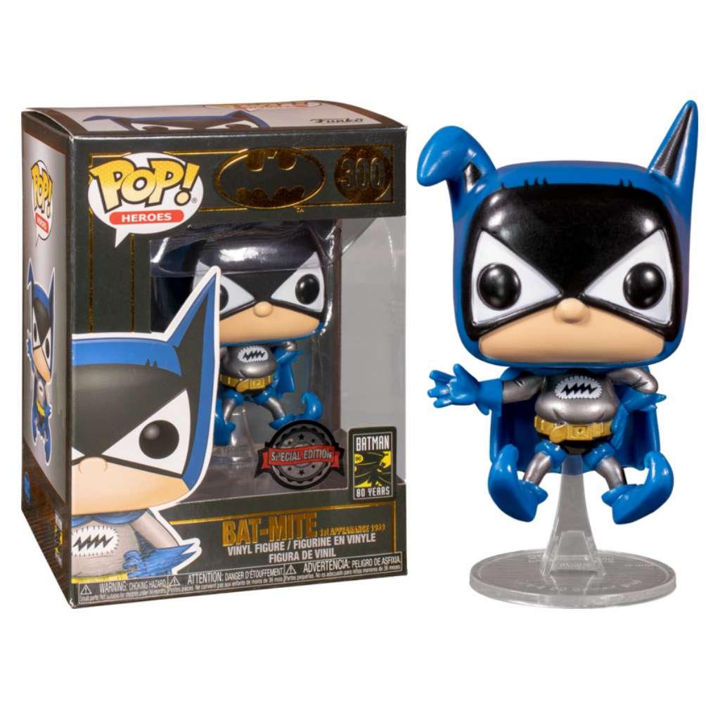 Funko Pop! Bat-Mite: DC Comics Batman 80th Anniversary Edição Especial Special Edition#300 - Funko