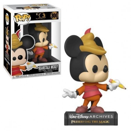 Funko Pop! Beanstalk Mickey: Disney 50 Anos #800 - Funko