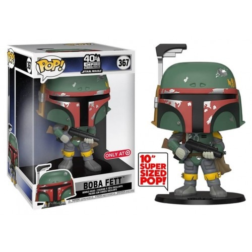 Funko Pop! Boba Fett Super Sized 10'': Star Wars O Império Contra-Ataca 40 Empire Strikes Back Exclusivo #367 - Funko