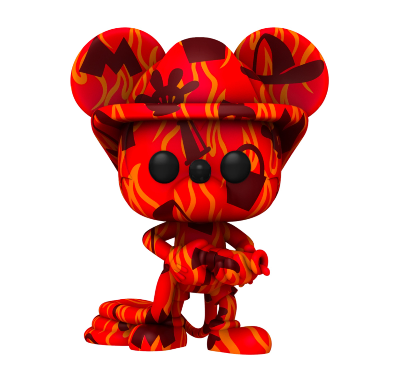 Funko Pop! Bombeiro Firefighter Mickey Mouse Disney Art Series Edição Especial Special Edition #19 - Funko
