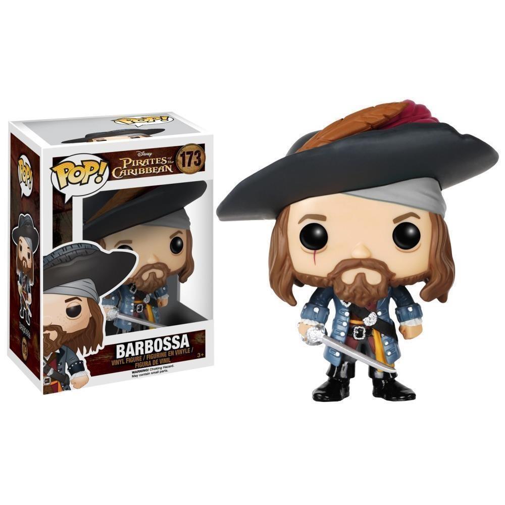 Funko Pop! Capitão Barbossa: Piratas do Caribe Pirates of the Caribbean Disney #173 - Funko