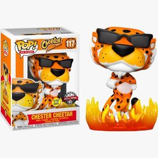 Funko Pop! Chester Cheetah: Cheetos Flamin' Hot Glows In The Dark Edição Especial #117 - Funko