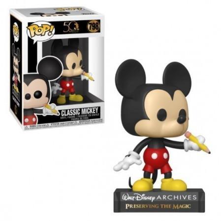 Funko Pop! Classic Mickey: Disney 50 Anos #798 - Funko