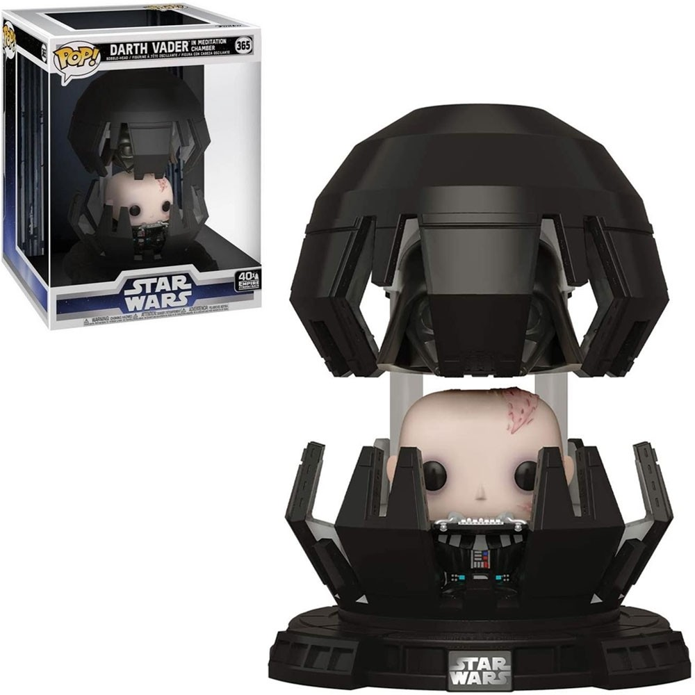 Funko Pop! Darth Vader in Meditation Chamber: Star Wars O Império Contra-Ataca (Empire Strikes Back)  #365 - Funko