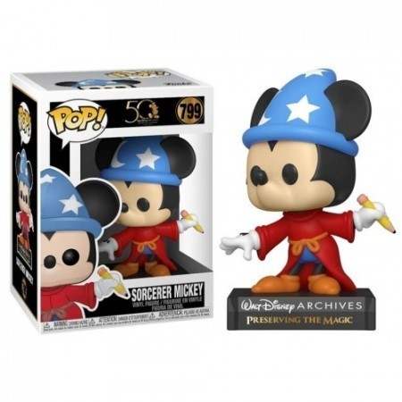 Funko Pop! Disney Arquivos 50 Anos: Mickey Sorcerer #799 - Funko