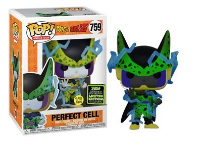 Funko Pop! Dragon Ball Z: Perfect Cell Edição Especial (Glows In The Dark) #759 - Funko