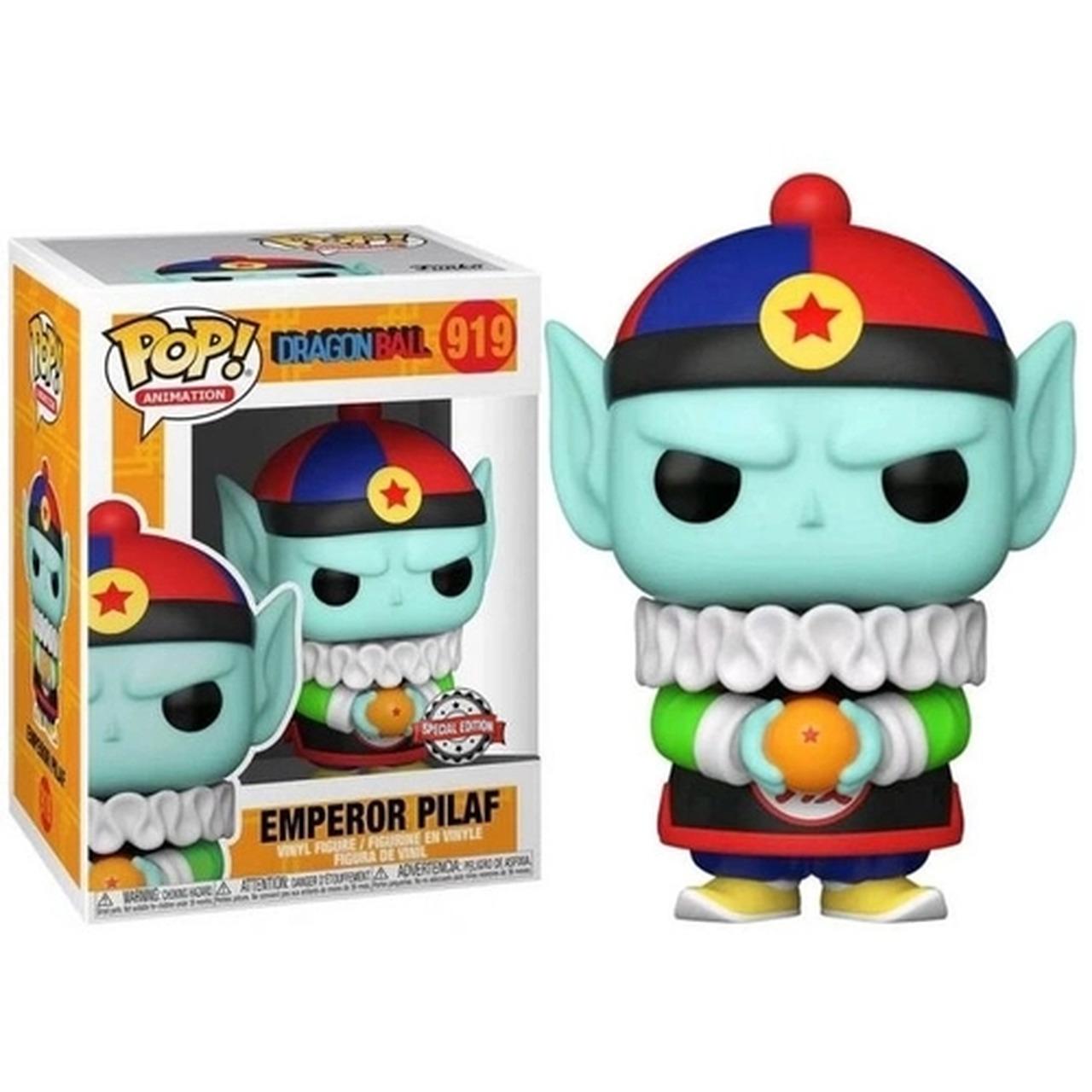 Funko Pop! Emperor Pilaf: Dragon Ball Z Edição Especial #919 - Funko