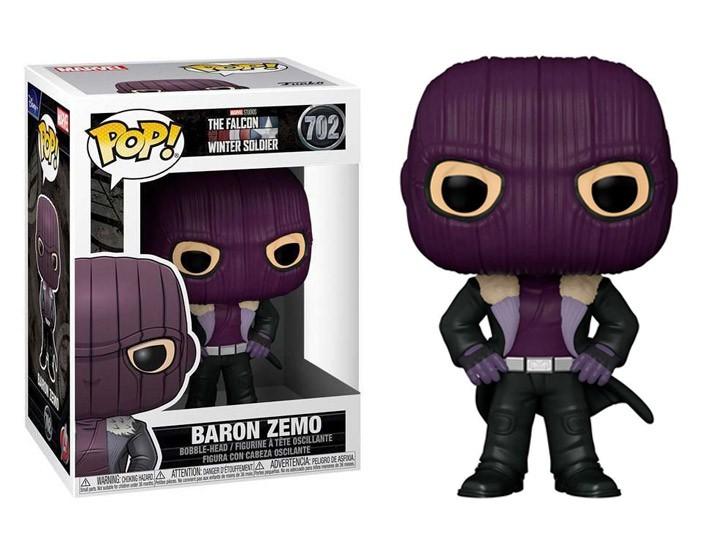 PRÉ VENDA: Funko Pop! Falcão e Soldado Invernal (The Falcon and the Winter Soldier): Barão Zemo (Baron Zemo) #702 - Funko