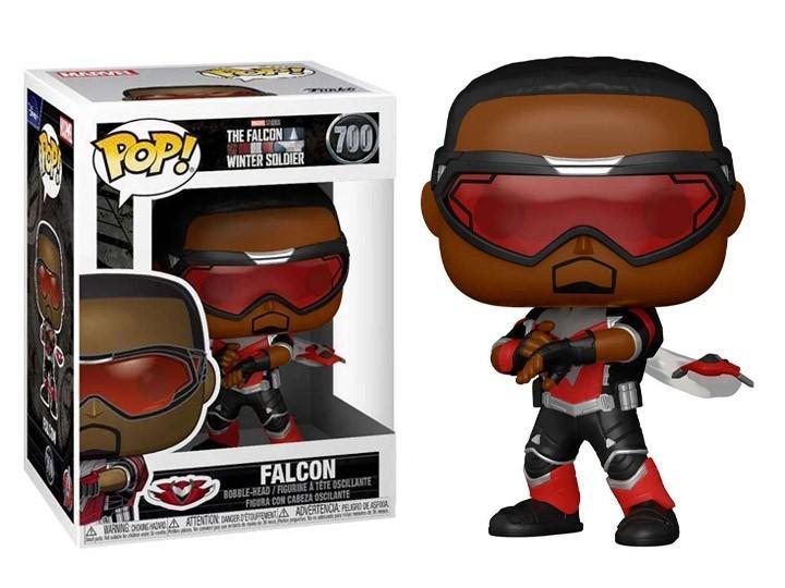 Funko Pop!  Falcão (Falcon): Falcão e Soldado Invernal (The Falcon and the Winter Soldier) #700 - Funko