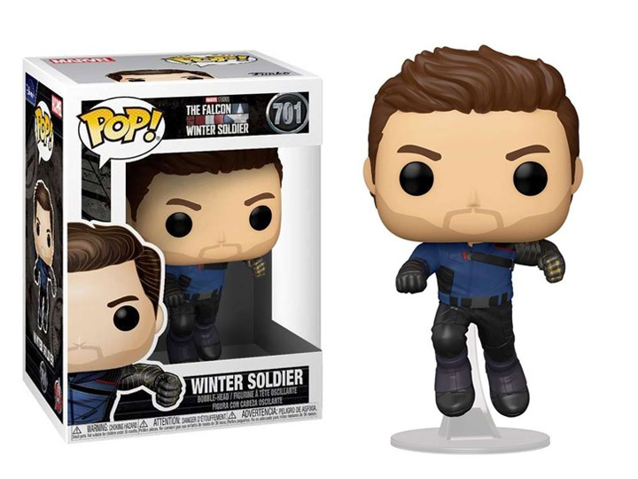 Funko Pop! Soldado Invernal (Winter Soldier): Falcão e Soldado Invernal (The Falcon and the Winter Soldier) #701 - Funko
