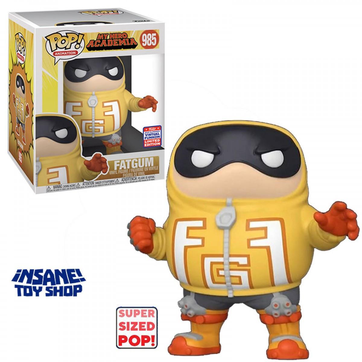 Funko Pop! Fatgum: My Hero Academia Edição Limitada Limited Edition SDCC 2021 #985- Funko