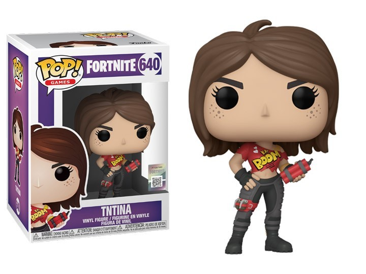 PRÉ VENDA: Funko Pop! Fortnite: TNTina #640 - Funko