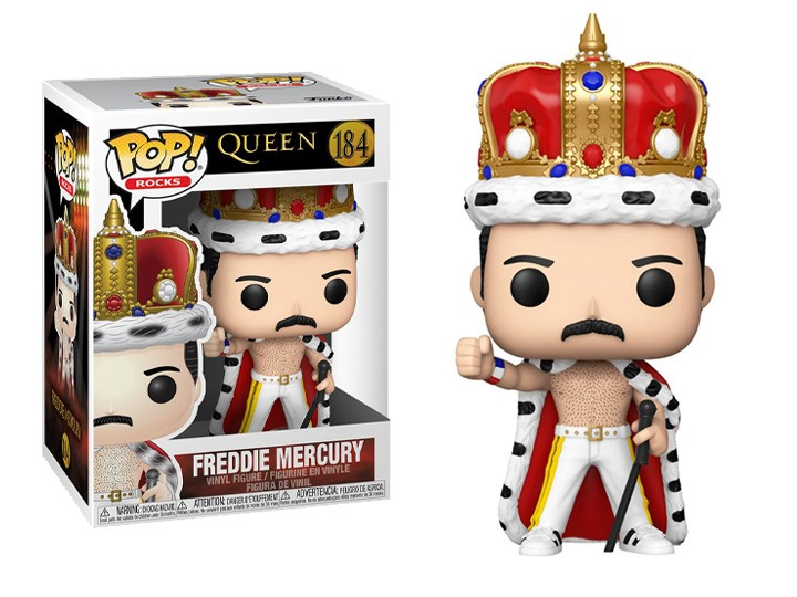 Funko Pop! Freddy Mercury (King): Queen  #184 - Funko