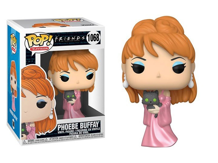 PRÉ VENDA: Funko Pop! Friends: Phoebe Buffay (Music Video) #1068 - Funko