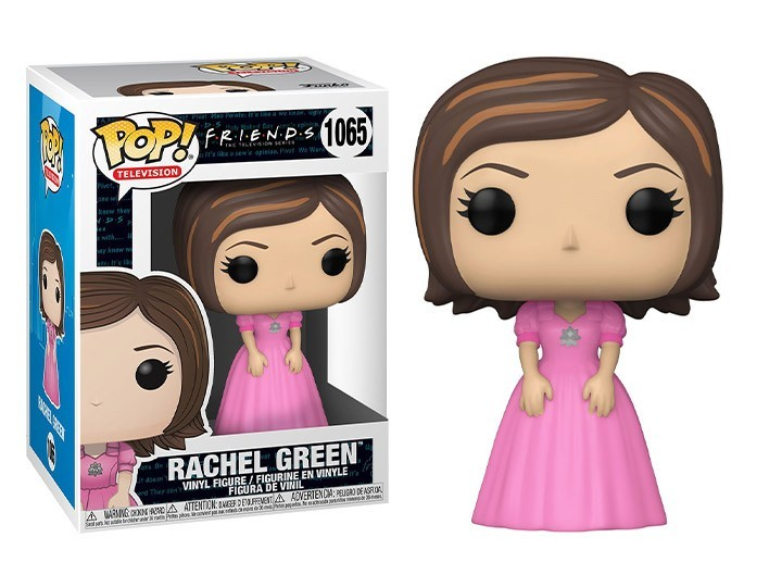 PRÉ VENDA: Funko Pop! Friends: Rachel Green (Pink Dress) #1065 - Funko