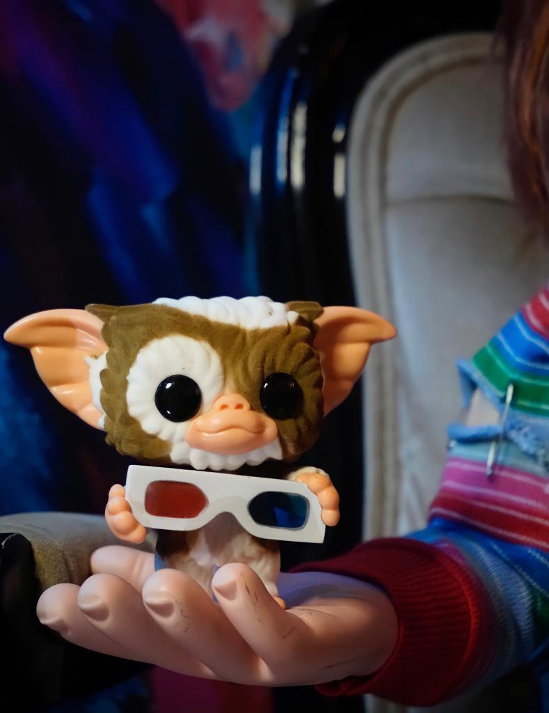 Funko Pop! Gizmo Óculos 3D: Gremlin Flocado Flocked Edição Especial Special Edition #1146 - Funko