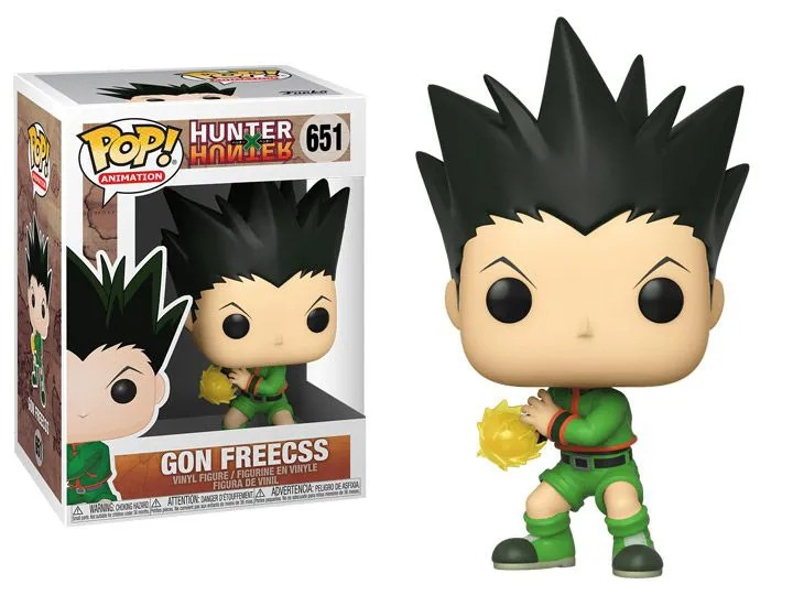 Funko Pop! Gon Freecss: Hunter × Hunter #651 - Funko - Anime Mangá