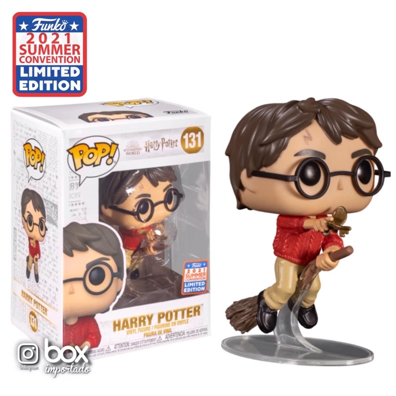 Funko Pop! Harry Potter: Harry Potter Edção Limitada Limited Editon SDCC  2021 #131 - Funko