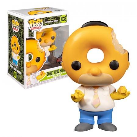 Funko Pop! Homer Cabeça de Donut Head Donut #1033 Os Simpsons Special Edition - Funko