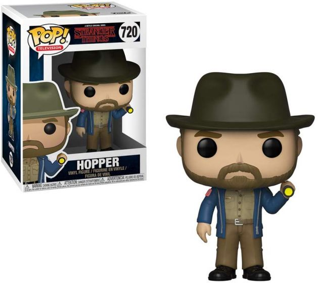 Funko Pop! Hopper: Stranger Things #720 - Funko