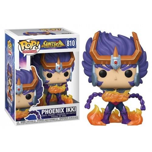 Funko Pop! Ikki de Fênix (Phoenix Ikki): Os Cavaleiros do Zodíaco (Saint Seiya)  #810 - Funko