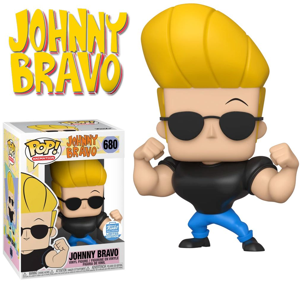 PRÉ VENDA: Funko Pop! Johnny Bravo #680 - Funko - EV