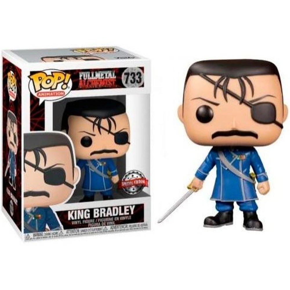 Funko Pop! King Bradley: Fullmetal Alchemist #733 Exclusivo Special Edition - Funko
