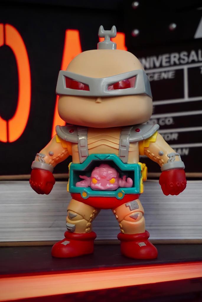 Funko Pop! Krang Tartarugas Ninja Teenage Mutant Ninja Turtles TMNT Super Sized 6