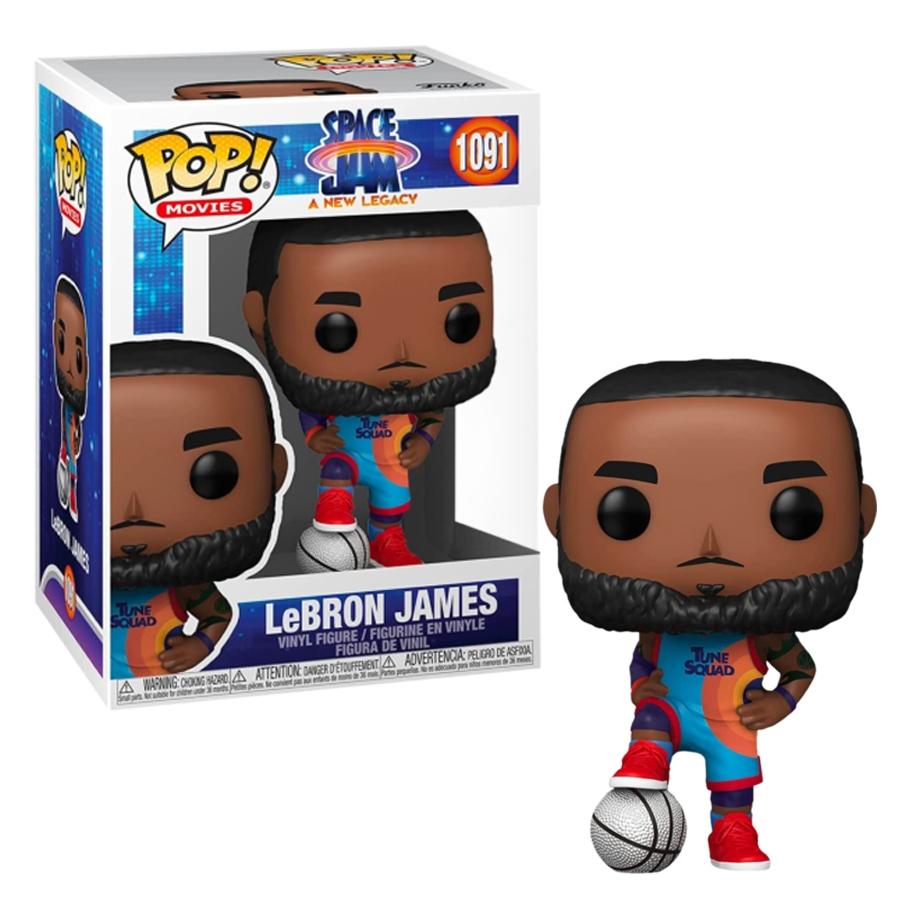 Funko Pop! Lebron James: Space Jam Um Novo Legado #1091 - Funko