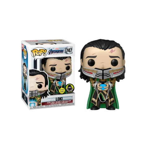 Funko Pop! Loki: Vingadores Avengers Marvel #747 - Funko - EVALI