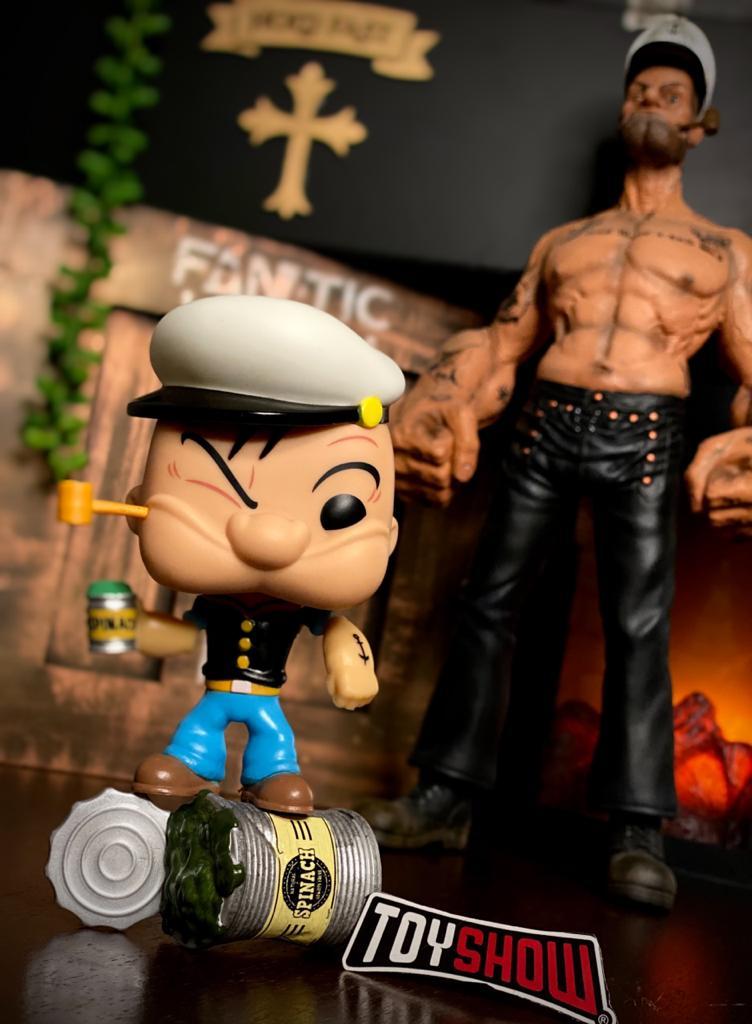 Funko Pop! Marinheiro Popeye - Popeye #369 Edição Especial - Funko