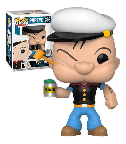 Funko Pop! Marinheiro Popeye - Popeye #369 Edição Especial - Funko - EVALI
