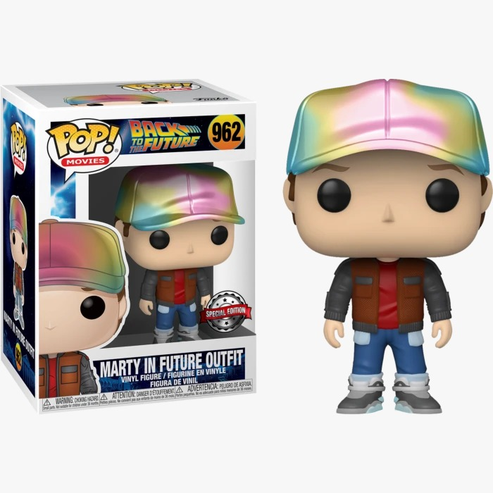 Funko Pop! Marty Roupa do Futuro Marty In Future Outfit: De Volta Para o Futuro Back To The Future Especial #962 - Funko
