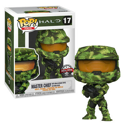 Funko Pop! Master Chief Rifle MA40 - Halo Edição Especial Special Edition #17 - Funko