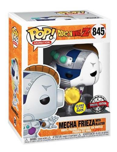 Funko Pop! Mecha Frieza: Dragon Ball Z Edição Especial Special Edition Glows In The Dark #845