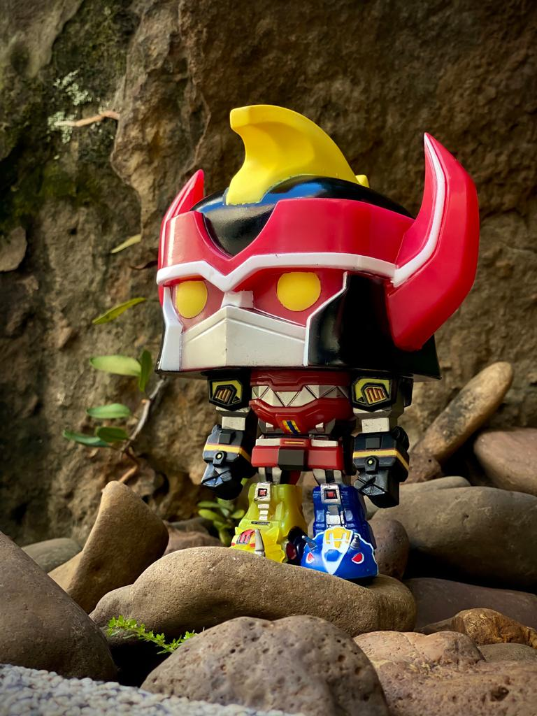 Funko Pop! Megazord (Glow in The Dark): Power Rangers (Exclusivo) #497 - Funko