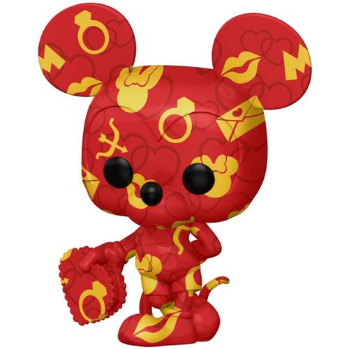 Funko Pop! Mickey Mouse: Mickey e Minnie Disney Edição Especial Especial Edition Art Series #24 - Funko