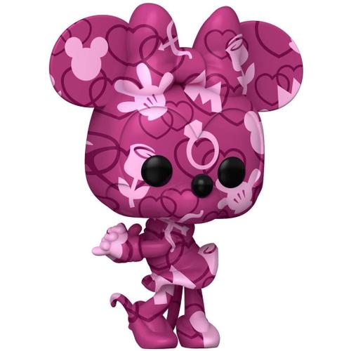 Funko Pop! Minnie Mouse: Mickey e Minnie Disney Edição Especial Especial Edition Art Series #23 - Funko