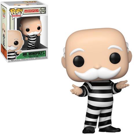 Funko Pop! Mr. Monopoly Preso in Jail : Monopoly #32 - Funko