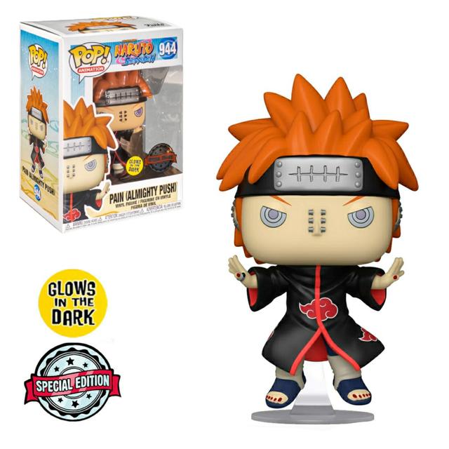Funko Pop! Nagato Pain  Akatsuki: Naruto Shippuden Glow In The Dark Especial #944 -  Funko  Anime Manga